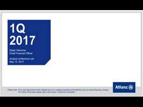 Allianz Group Analysts' Conference on Q1 2017