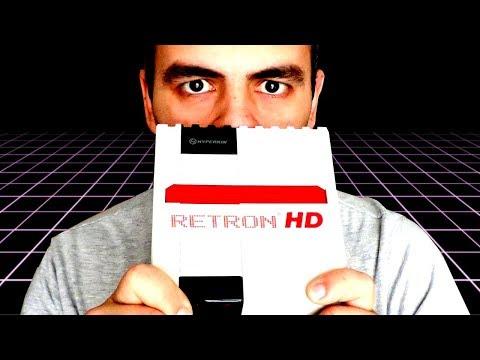 RETRON HD LA MINI NES CON CARTUCHOS EN HD