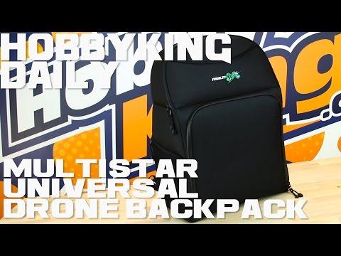 MultiStar Universal Drone Backpack - HobbyKing Daily