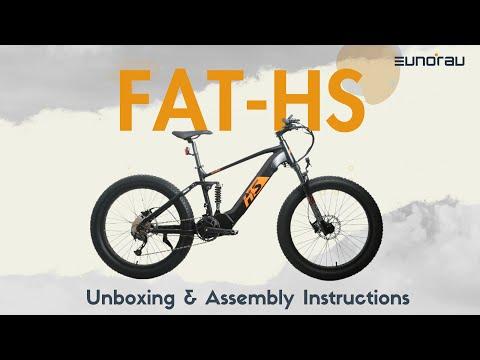 Unboxing the Eunorau FAT-HS Model Ebike