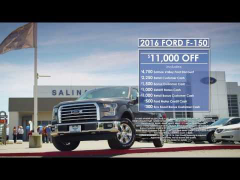 """Salinas Valley Ford - """"Pre-XMAS Deals"""""""