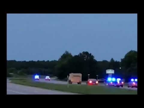 Police Chasing Stolen 'Armored Personnel Carrier' In Virginia