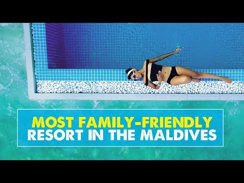 MOST FAMILY-FRIENDLY RESORT IN THE MALDIVES! Kandima Maldives | Newlywed Diaries Vlog 03