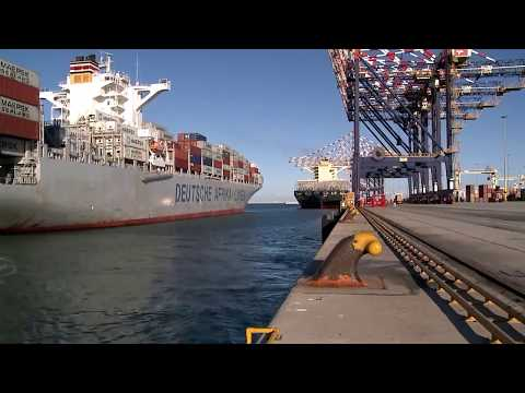 MoorMaster™ automated mooring at a container terminal