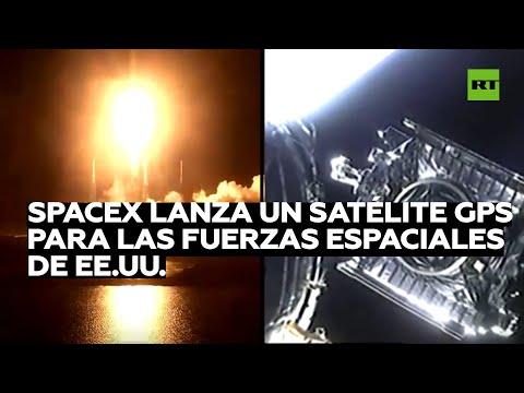 SpaceX lanza a la órbita un avanzado satélite para la Fuerza Espacial de EE.UU.