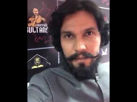 Open challenge to Delhi Heroes from Randeep Hooda!
