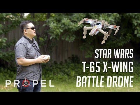 Star Wars T-65 X-Wing Battle Drone - Propel | Unboxing & Review - UCFjv0ZE4GvI84TAAqwxNFvw
