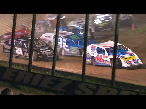 UMP Modified Feature | Eriez Speedway | 8-8-21 - dirt track racing video image