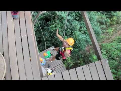 Art of Absence - Zip Lining (Flying Fox) in Chiang Mai Thailand