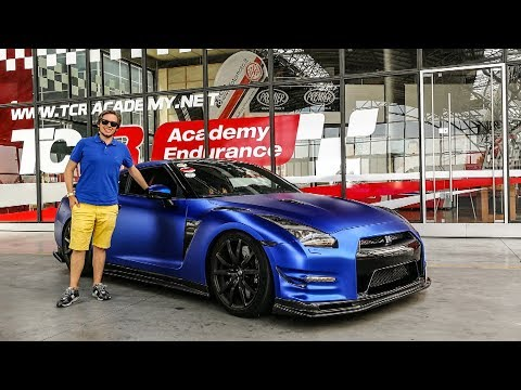 800hp Nissan GT-R Driven: IT'S A POWERFUL BEAST! ? [Sub ENG]