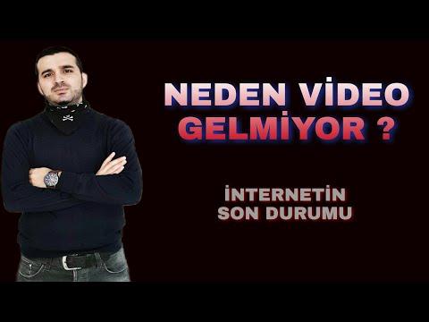 NEDEN VİDEO GELMİYOR / İNTERNET NE DURUMDA