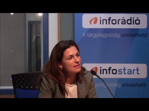 InfoRádió - Aréna - Varga Judit - 1. rész