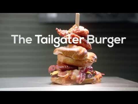 Check Out Ravens' New Gargantuan Stadium Burger