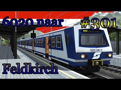 Naar Feldkirch met de ÖBB 6020 - Train Simulator #301