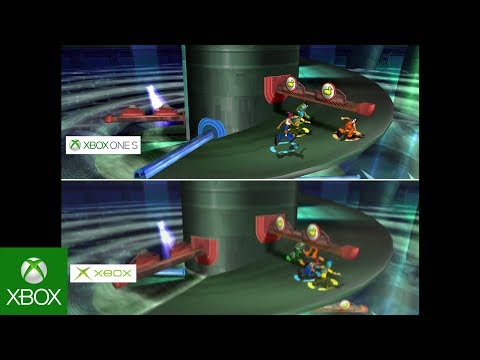 Fuzion Frenzy – Graphics Comparison: Original Xbox vs  Xbox