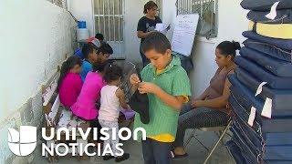 Así viven los menores en albergues de México mientras esperan su proceso de asilo para entrar a EEUU