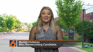 Miss Homecoming Candidate Maddy Hickman