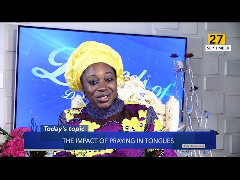 Dr Becky Paul-Enenche - SEEDS OF DESTINY  FRIDAY 27TH SEPTEMBER, 2019