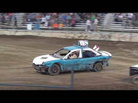 USA Figure Eight Championship 2018 (FWD cars) Heat 5 (Munger,Michigan)