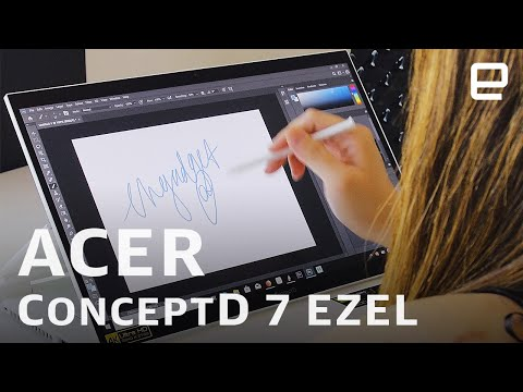 Acer ConceptD 7 Ezel hands-on at CES 2020 - UC-6OW5aJYBFM33zXQlBKPNA