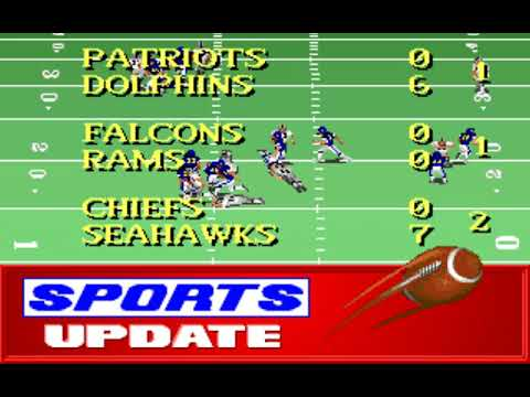 NFL Football (Week 7: Raiders - Chargers) (Distinctive Software) (MS-DOS) [1992] [PC Longplay]