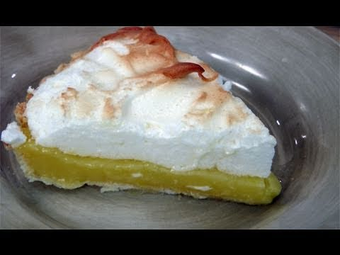 How to Make Lemon Meringue Pie - Recipe by Laura Vitale - Laura in the Kitchen Ep 121 - UCNbngWUqL2eqRw12yAwcICg