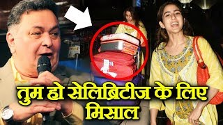 Sara Ali Khan Gets Appreciation From Rishi Kapoor For Carrying Her Own Luggage At Airport