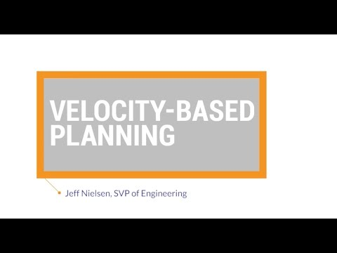 Agile Best Practices: Velocity-Based Planning
