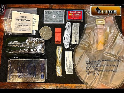 US Marine Corps Issue Type 1 Class 3 Survival Kit Review