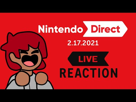 DExus Reacts LIVE to the 2.17.2021 Nintendo Direct