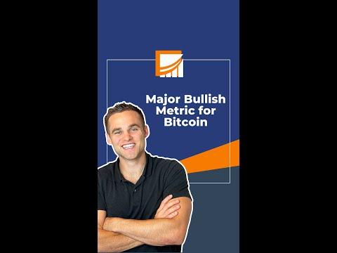 Major Bullish Metric For BTC! #shorts