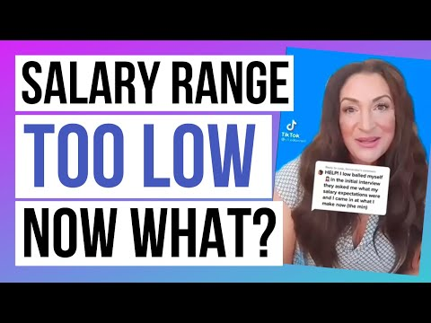 How To Rebound When Your Salary Range Is Too Low photo