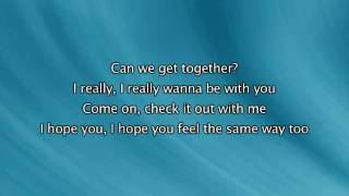Get Together, Lyrics In Video