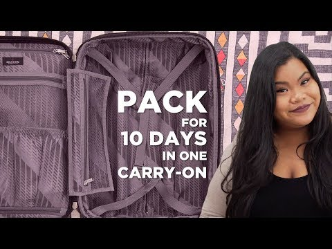I Packed For 10 Days In 1 Carry-On