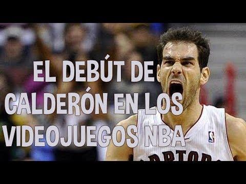 El debut de Calderón en los videojuegos NBA - NBA Live 06