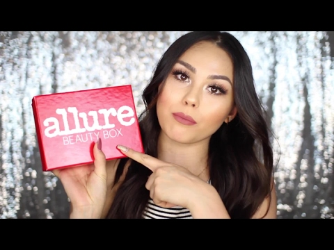Roxette Arisa Unboxes the June 2016 Allure Beauty Box | Allure