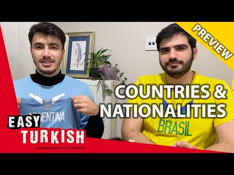 What Turks Associate With Other Nations? 1 (PREVIEW)   Super Easy Turkish 14 photo