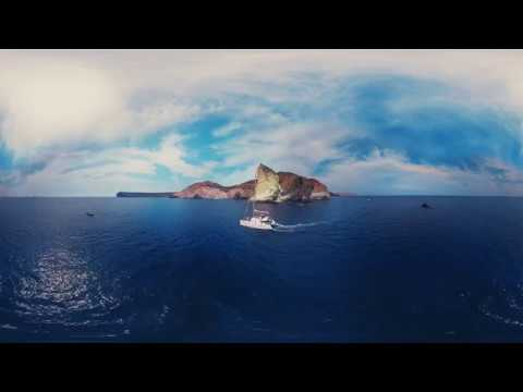 360°-matka idylliselle Santorinille