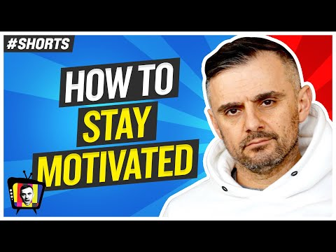 How to Stay Motivated 24/7 #Shorts