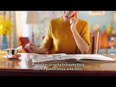 Säästöpankki Elämänvara, talopaketti 25s tekstitetty | Säästöpankki Sparbanken