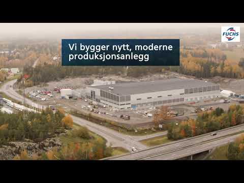Vi bygger ny effektiv og bærekraftig fabrikk
