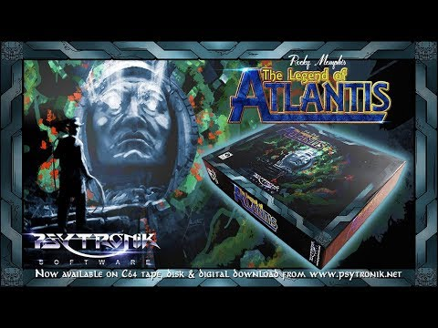 Hasta el Infinito, y más allá --- Legend of Atlantis --- (2) Commodore 64 Real 50Hz