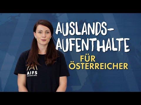 Auslandsaufenthalte für ÖSTERREICHER // AIFS in Österreich