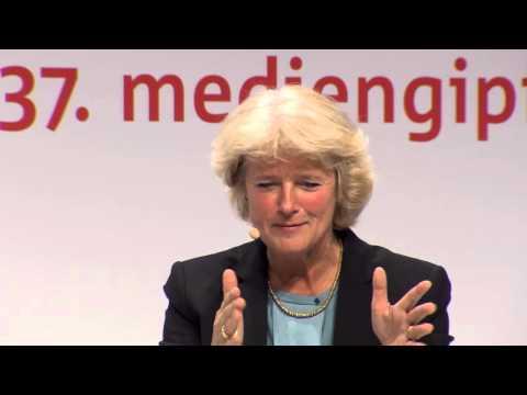 37. mediengipfel: Prof. Monika Grütters im Gespräch mit Dr. Hajo Schumacher