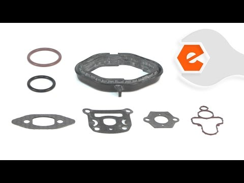 Chainsaw Repair - Installing the Cylinder Gasket and O-Ring Kit (Poulan Part # 530071894)