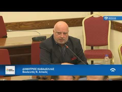 Δ.Καβαδέλας /Επιτροπή, Βουλή/19-10-2017