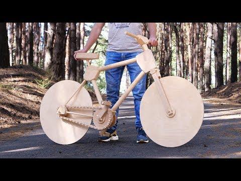 Tamamı Ahşaptan Gerçek Bisiklet Yapımı