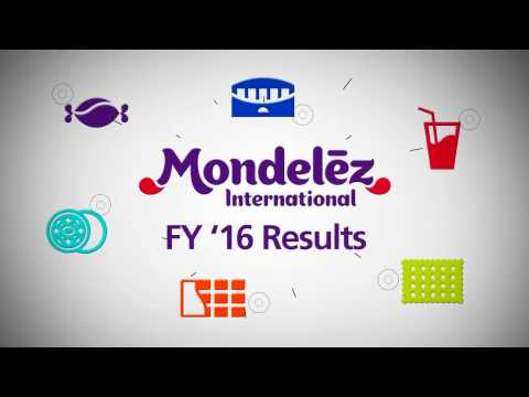 Mondelēz International eports fourth quarter and full-year 2016 results