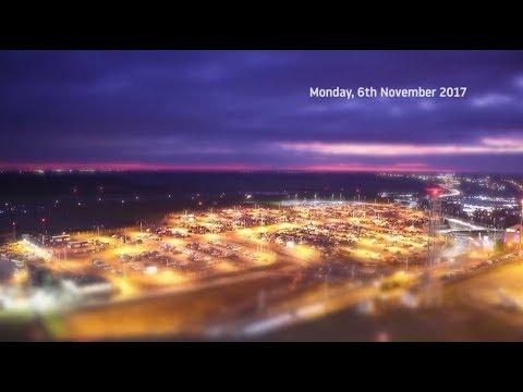 November nights on the runway