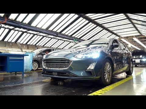 Ford Focus production at the Ford Saarlouis plant in Germany